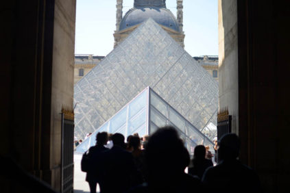 Ty Mullen Louvre museum