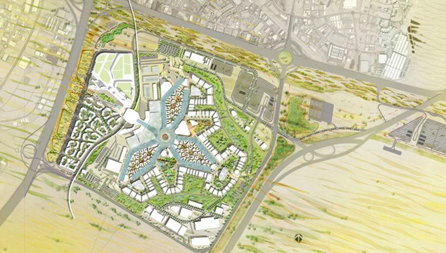 Expo Dubai 2020 site plan