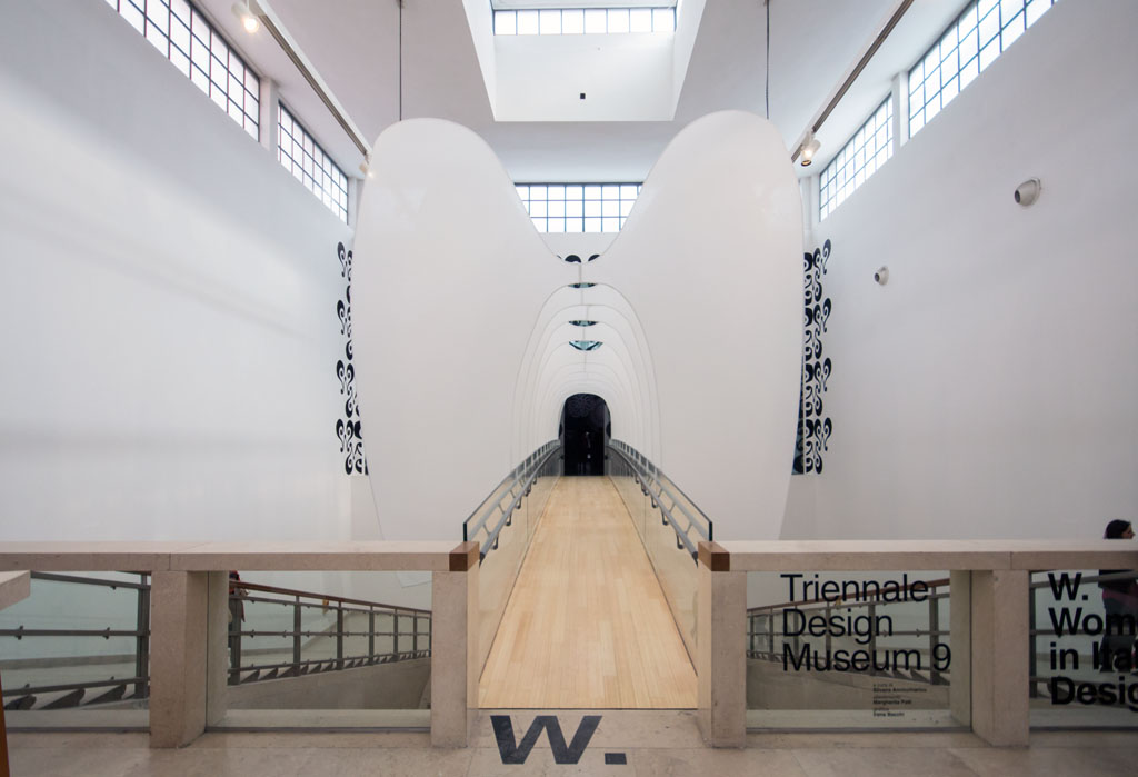 Women Italian Design exhibition 21st Triennale Milan 2016 Inexhibit 01