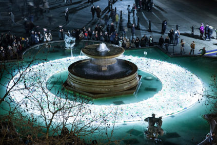 "London | The ""8th Continent"" at Trafalgar Square"