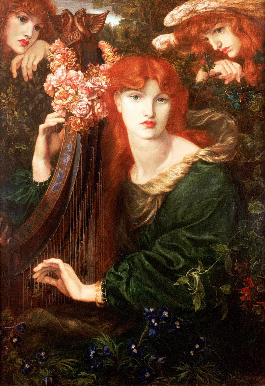 Botticelli- Victoria-&-Albert-gabriel rossetti