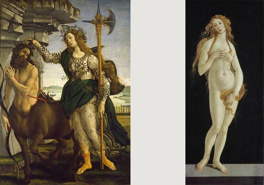 Botticelli-Victoria-&-Albert-pallade-e-centauro