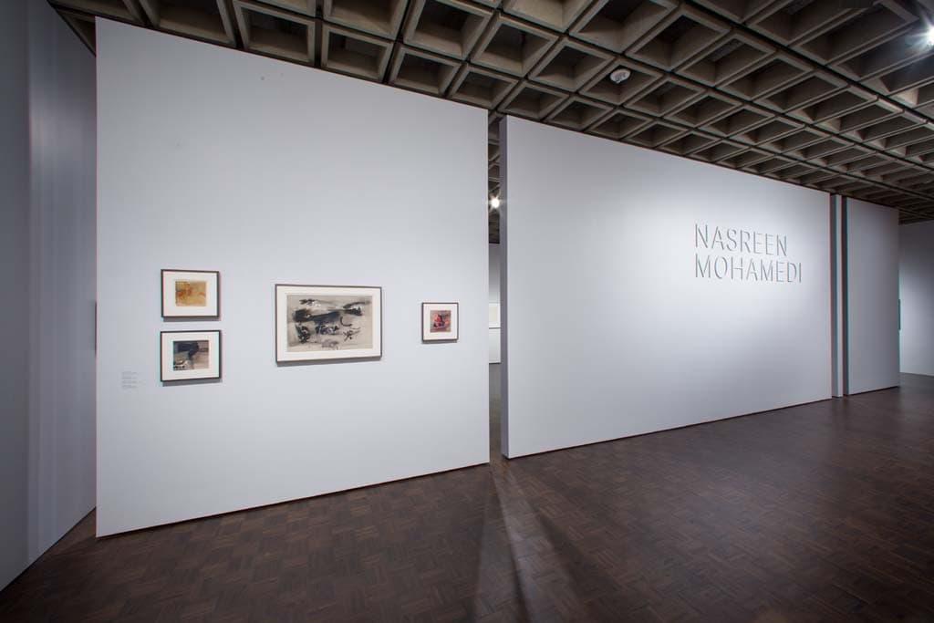 Met Breuer opening Nasreen Mohamedi exhibition 03