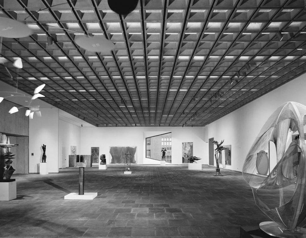 Whitney Breuer Museum opening 1966