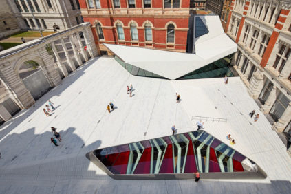 London | The renovated V&A Museum by Amanda Levete Architects