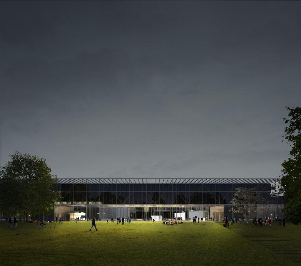 The New Bauhaus Museum Dessau By Gonzalez Hinz Zabala