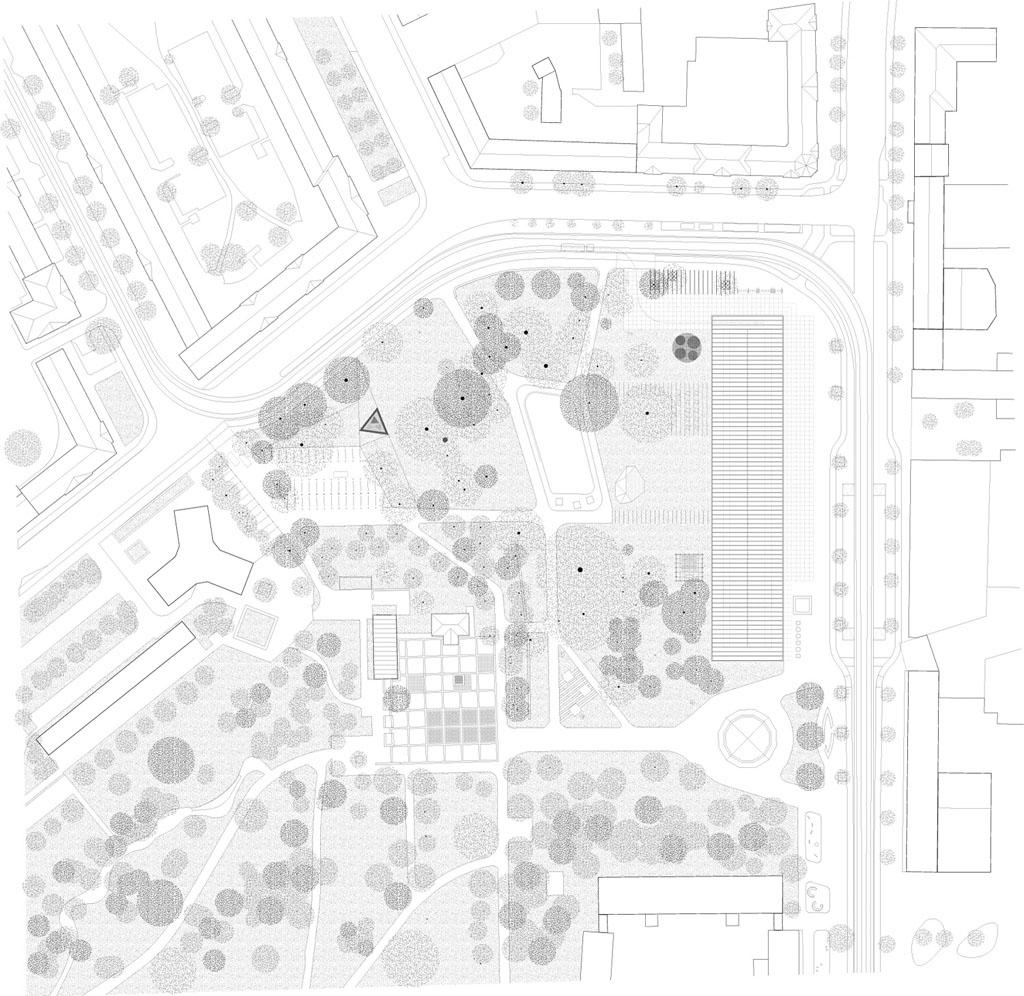 Bauhaus Museum Dessau site plan