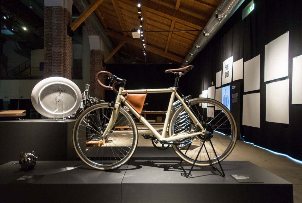 Bicycle Fabbrica Vapore Milano New Craft XXI Triennale Inexhibit