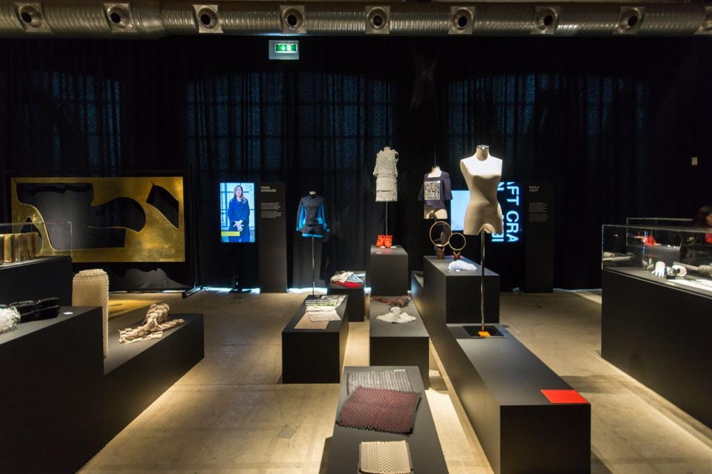 Fabbrica Vapore Milano New Craft XXI Triennale dresses Inexhibit