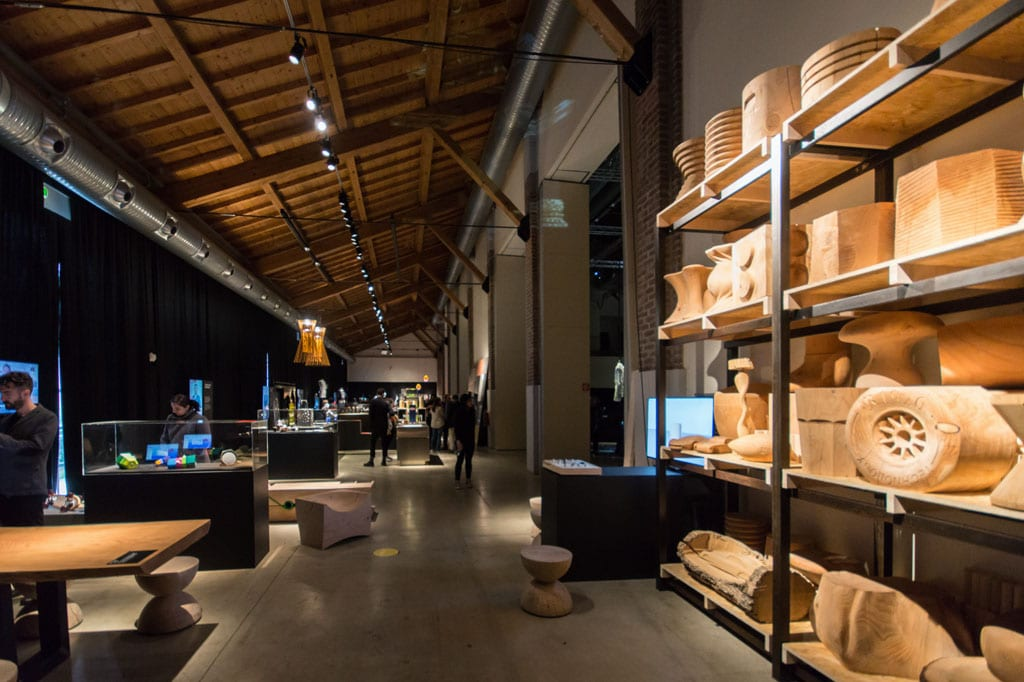 Fabbrica Vapore Milano New Craft XXI Triennale wood Inexhibit