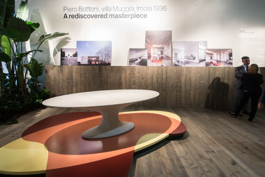Fenice table Piero Bottoni Zanotta Milan Furniture Fair Salone del Mobile 2016 02 Inexhibit