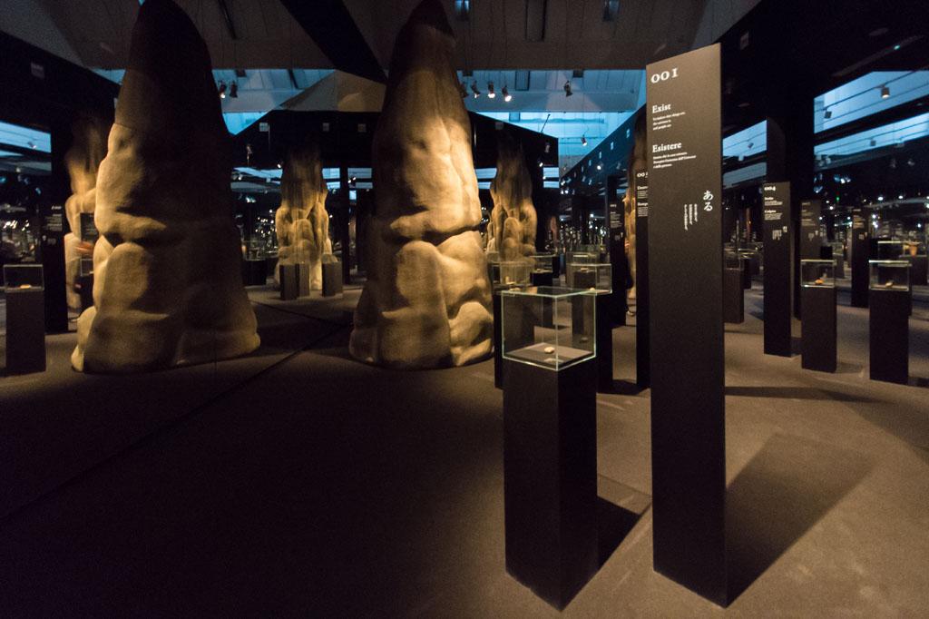 Installation view Neo Prehistory exhibition Branzi Hara 21st Triennale Milan 01