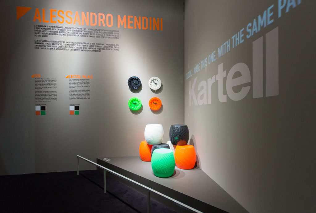 Kartell Alessandro Mendini Milan Furniture Fair Salone del Mobile 2016 02 Inexhibit