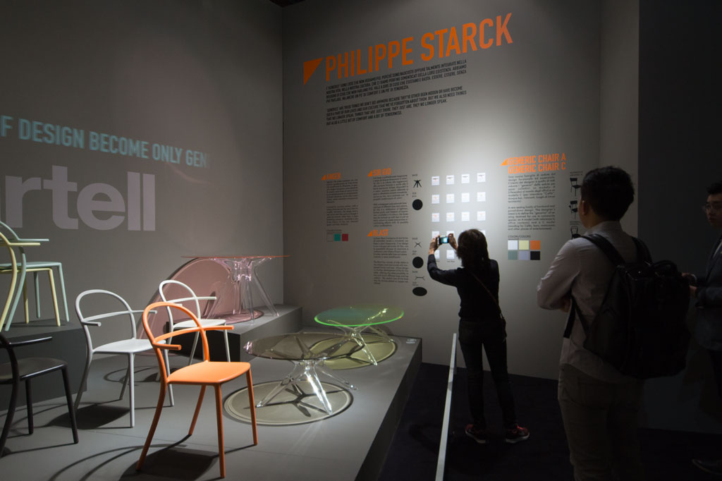 Kartell Philippe Starck Milan Furniture Fair Salone del Mobile 2016 02 Inexhibit