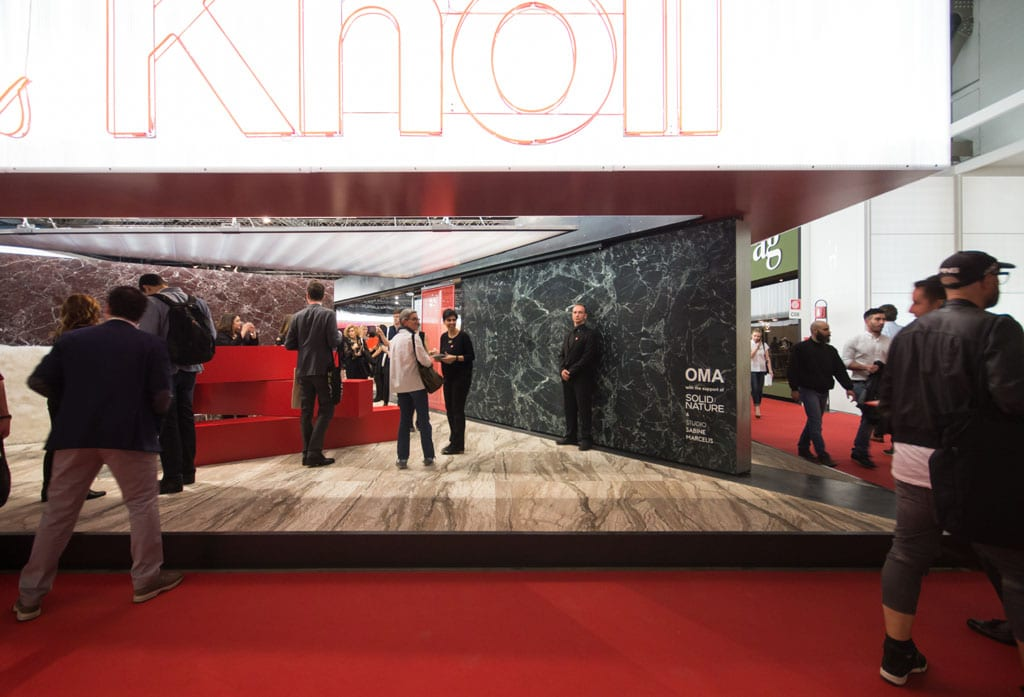 Knoll pavilion Rem Koolhaas OMA Milan Furniture Fair Salone del Mobile 2016 Inexhibit
