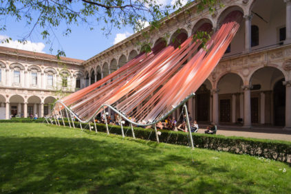MAD architects Invisible border installation Milan Design Week 2016 Inexhibit 01