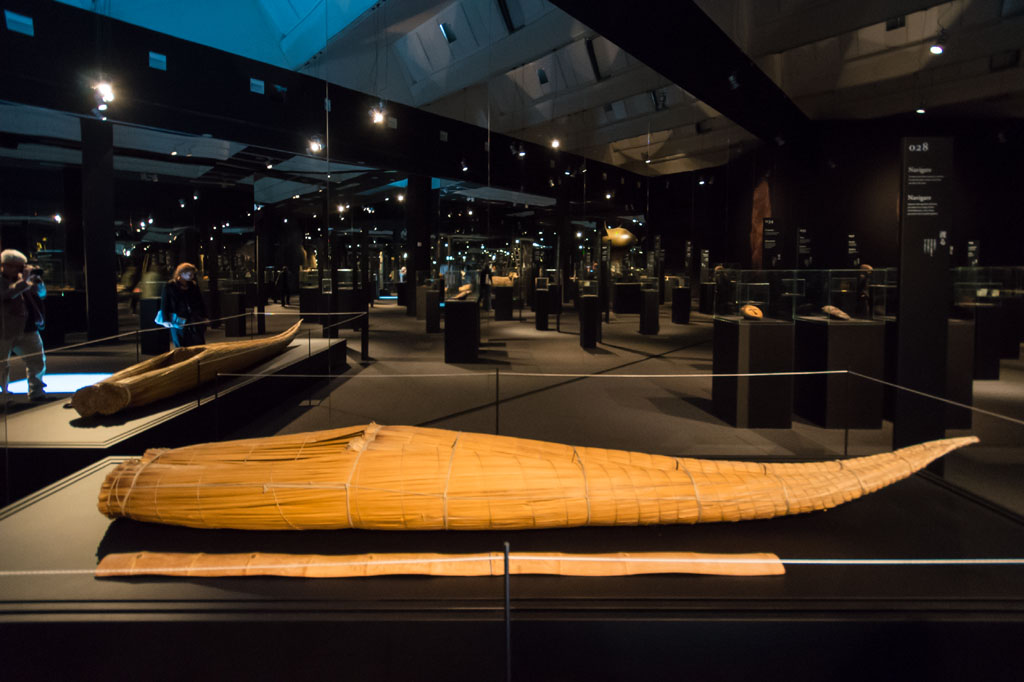 Reed boat Neo Prehistory exhibition Branzi Hara 21st Triennale Milan 05