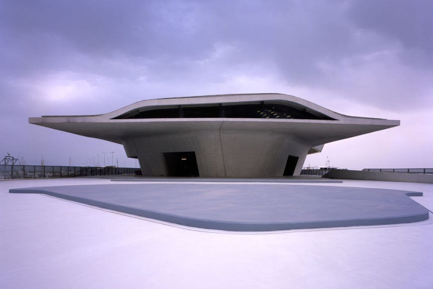 salerno maritime station by zaha hadid inaugurated in italy. Black Bedroom Furniture Sets. Home Design Ideas