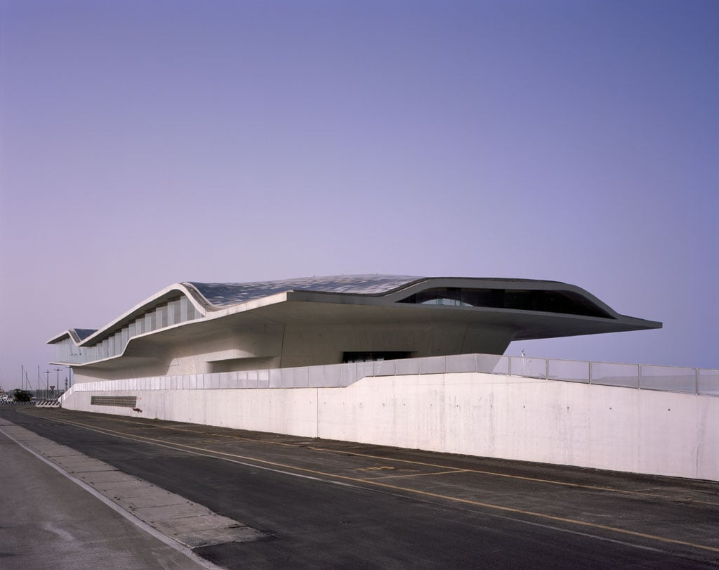 Salerno Maritime Station By Zaha Hadid Inaugurated In Italy