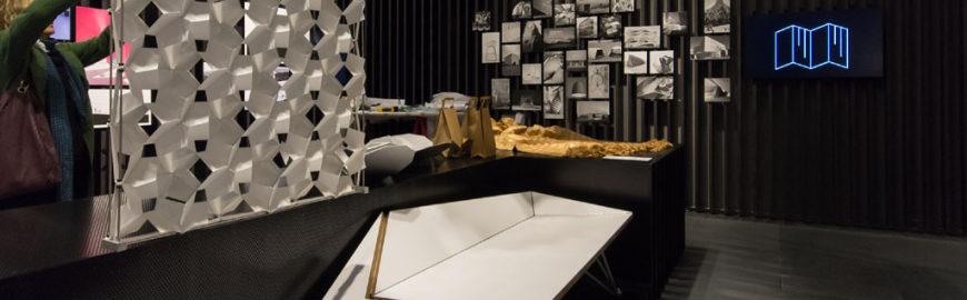 Sempering design architecture exhibition MUDEC Milan folding 01 Inexhibit