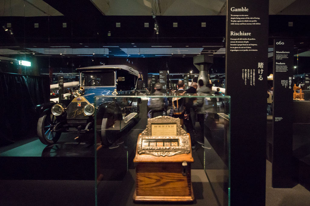 Slot machine Prehistory exhibition Branzi Hara 21st Triennale Milan 13