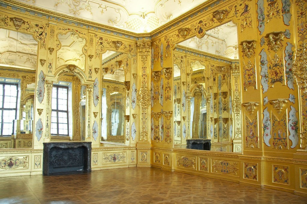 Belvedere Museum Vienna Lower Belvedere palace interior view 01