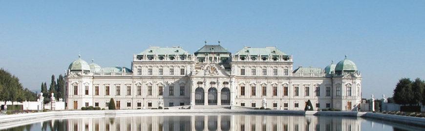 Belvedere Museum Vienna Upper Belvedere palace exterior view 01