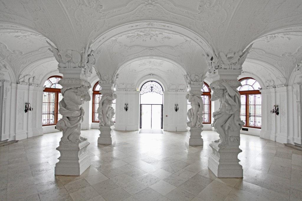 Belvedere Museum Vienna Upper Belvedere palace interior view 01
