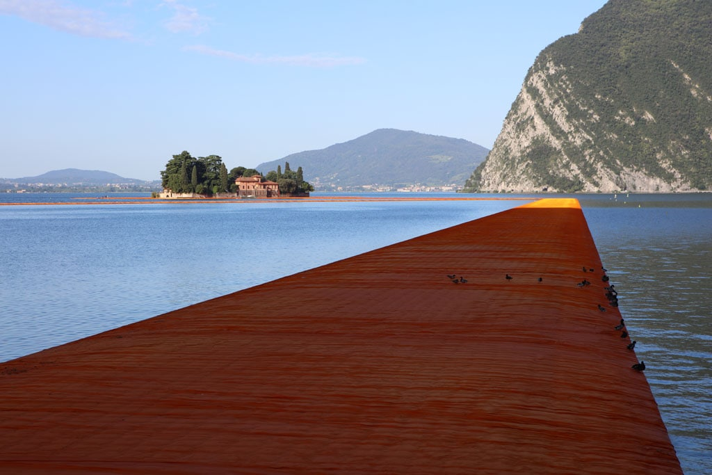 Christo artwork Lake Iseo 2016 The Floating Piers 12
