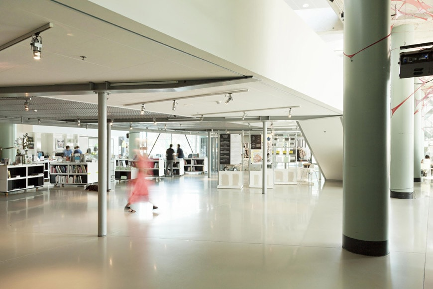 Het-Nieuwe-Instituut-Rotterdam-interior view-Hall-2
