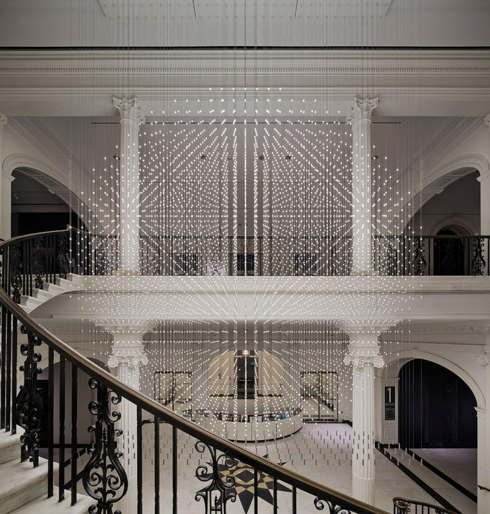 Museum of the City of New York starlight installation