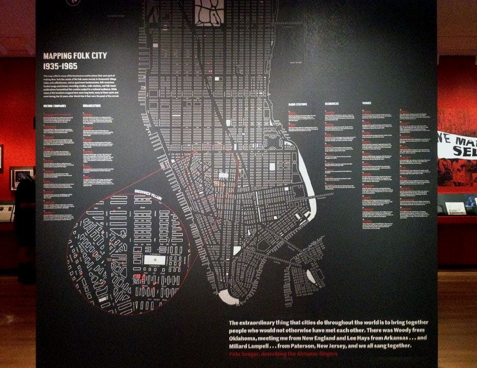 Museum of the City of New York urban map gallery