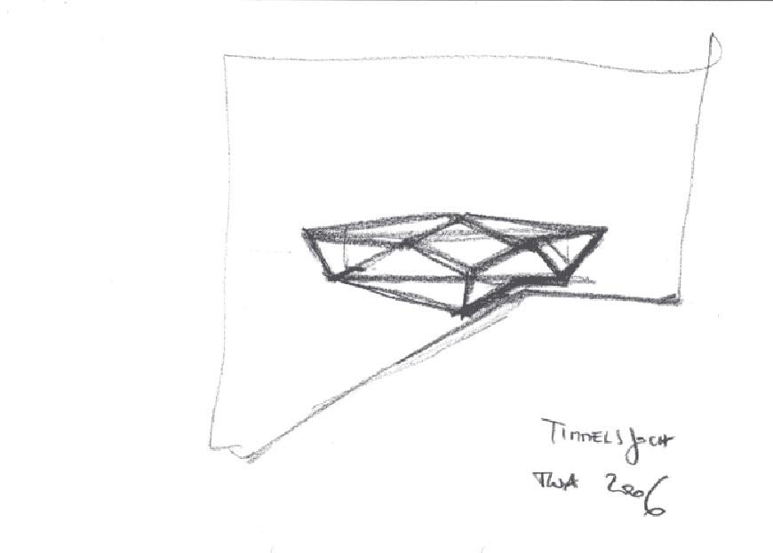 Pass Museum Timmelsjoch Austria Werner Tscholl sketch