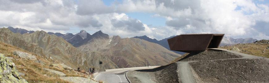 Timmelsjoch Experience Tyrol architectural sculptures Pass Museum 02