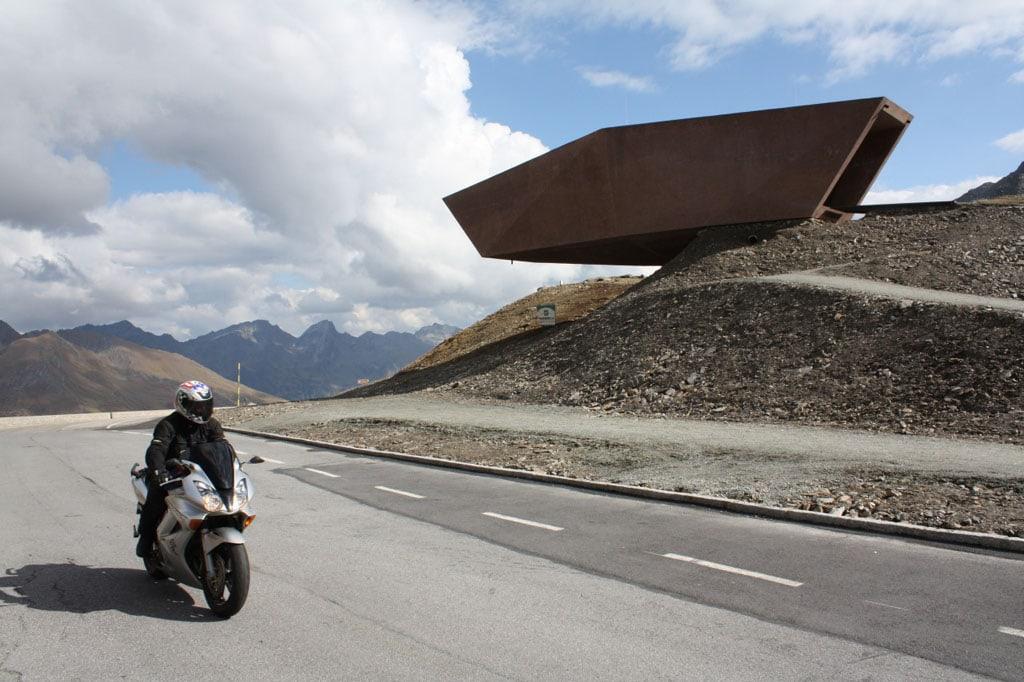 Timmelsjoch Experience Tyrol architectural sculptures Pass Museum 03