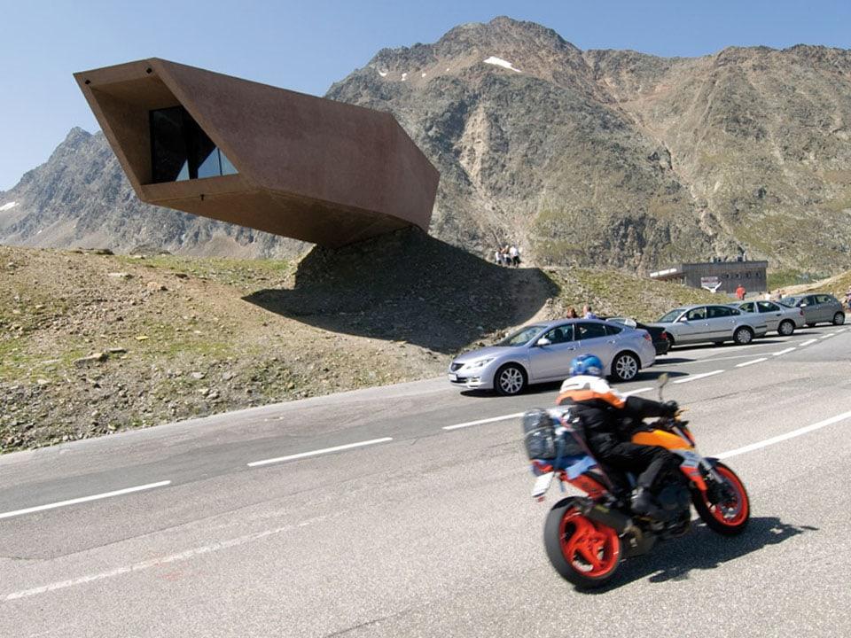 Timmelsjoch Experience Tyrol architectural sculptures Pass Museum 04