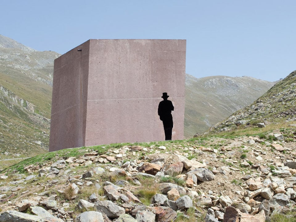Timmelsjoch Experience Tyrol architectural sculptures Smugglers 02