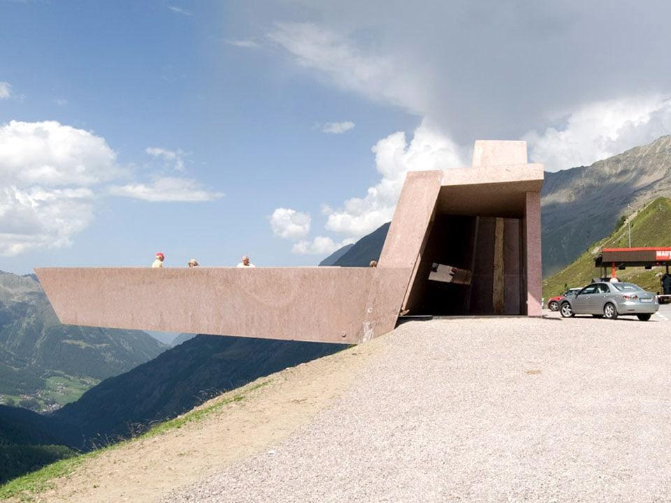 Timmelsjoch Experience Tyrol architectural sculptures Walkway 02