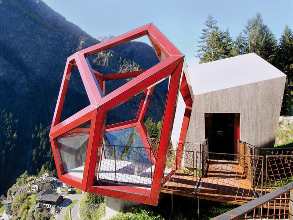 Timmelsjoch Experience architecturall scupltures Tyrol Garnets 03