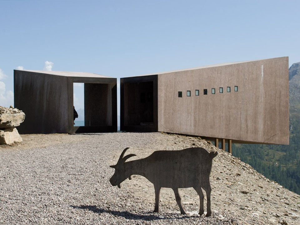 Timmelsjoch Experience architecturall scupltures Tyrol Telescope 01