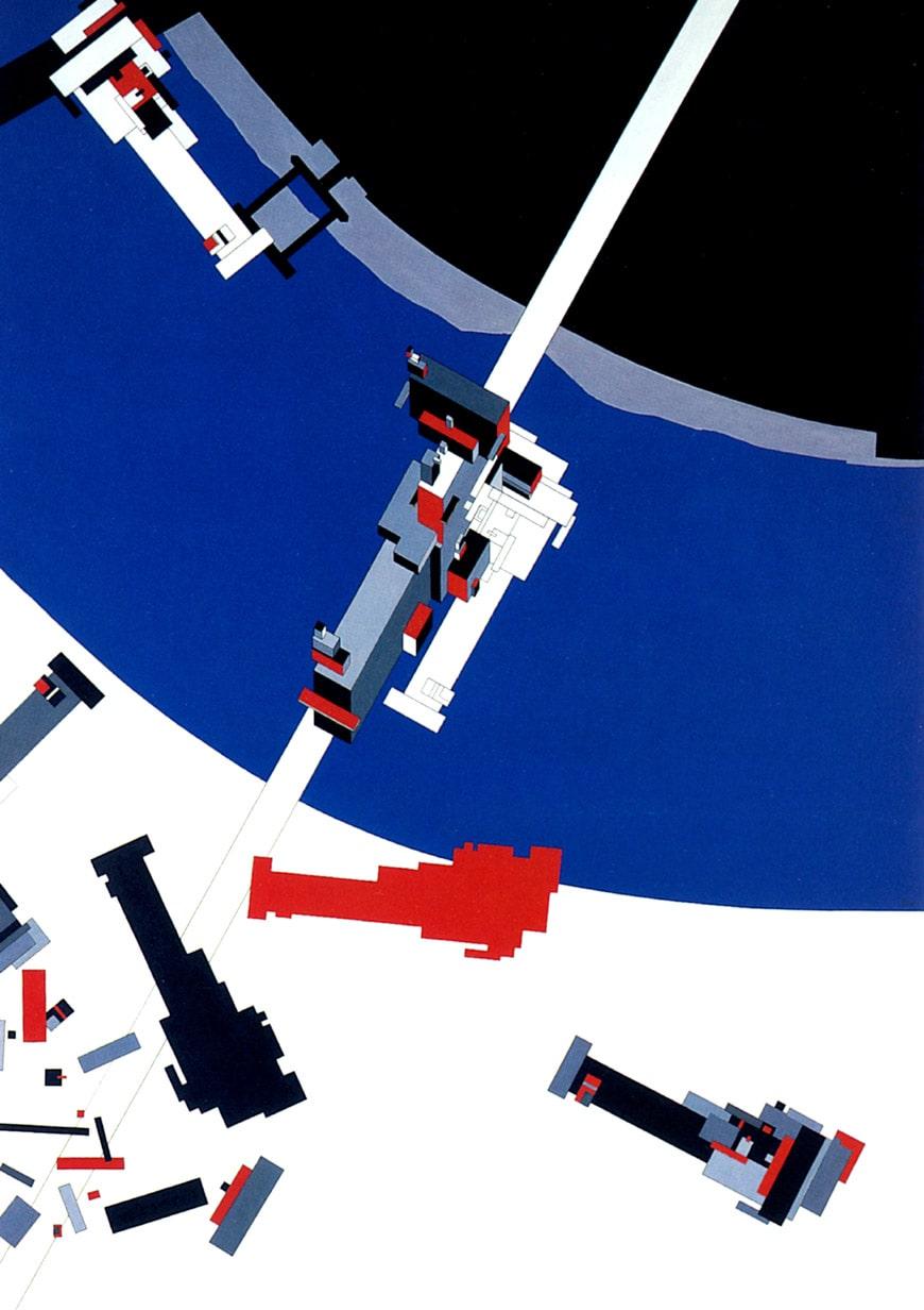 Zaha Hadid 1976 Malevich's Tektonik London