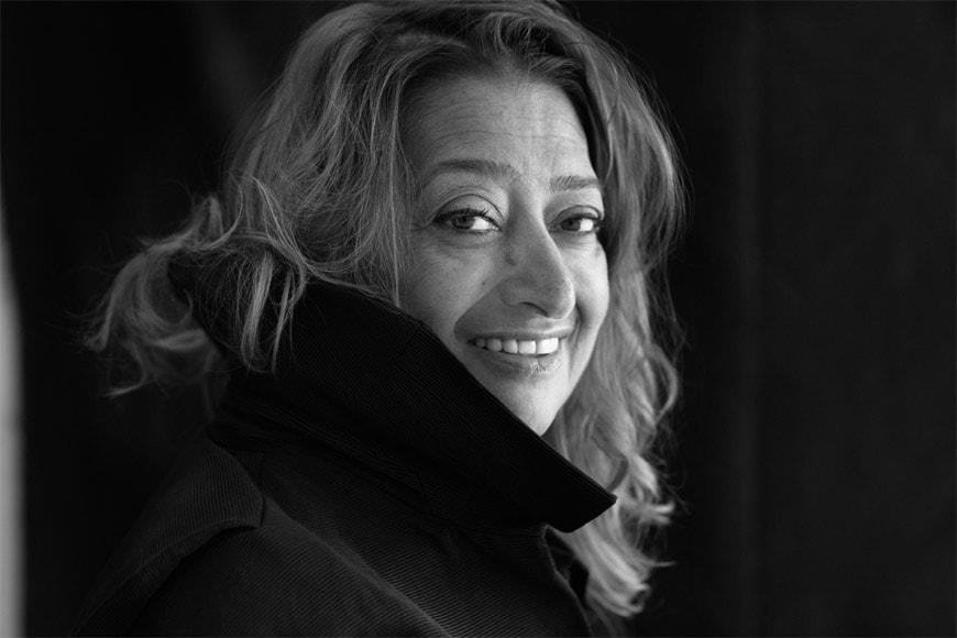 Zaha Hadid Portrait Lacombe