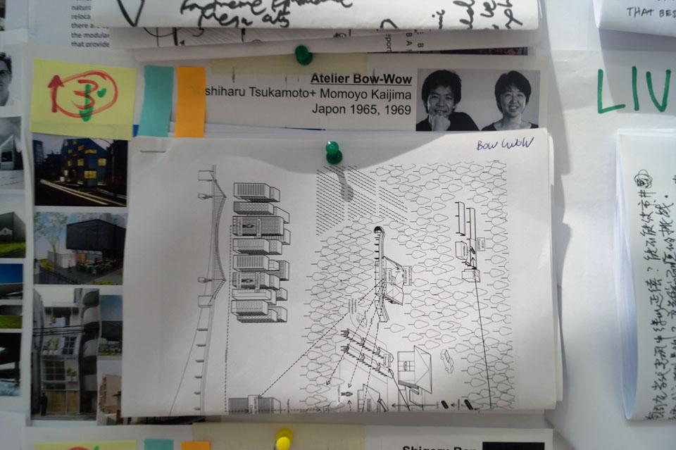 Atelier Bow Wow sketch Architecture Biennale Venice Inexhibit