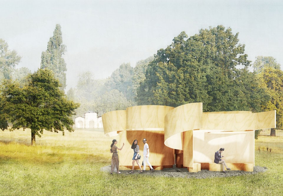 Barkow Leibinger Serpentine Summer House London 2016 render 05