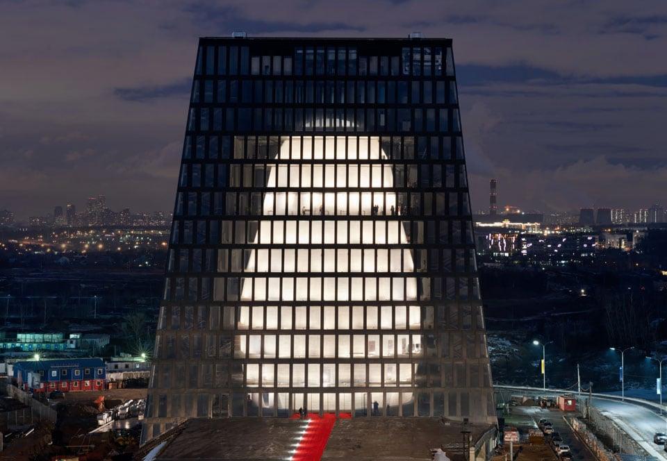 Matrex building Moscow Boris Bernaskoni