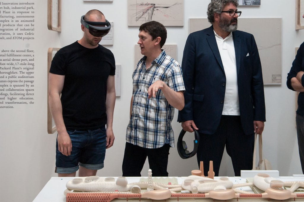 Microsoft Hololens Test Venice Biennale 2016