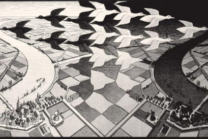 Milano-Escher-giorno-notte