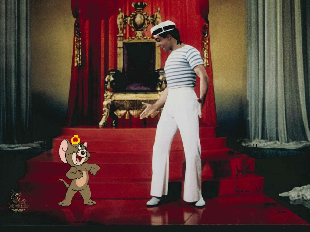 Mixed reality Gene Kelly Jerry Mouse