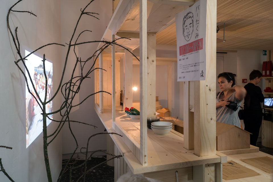 Umaki Camp dot architects Japan pavilion Venice Biennale 2016 Inexhibit