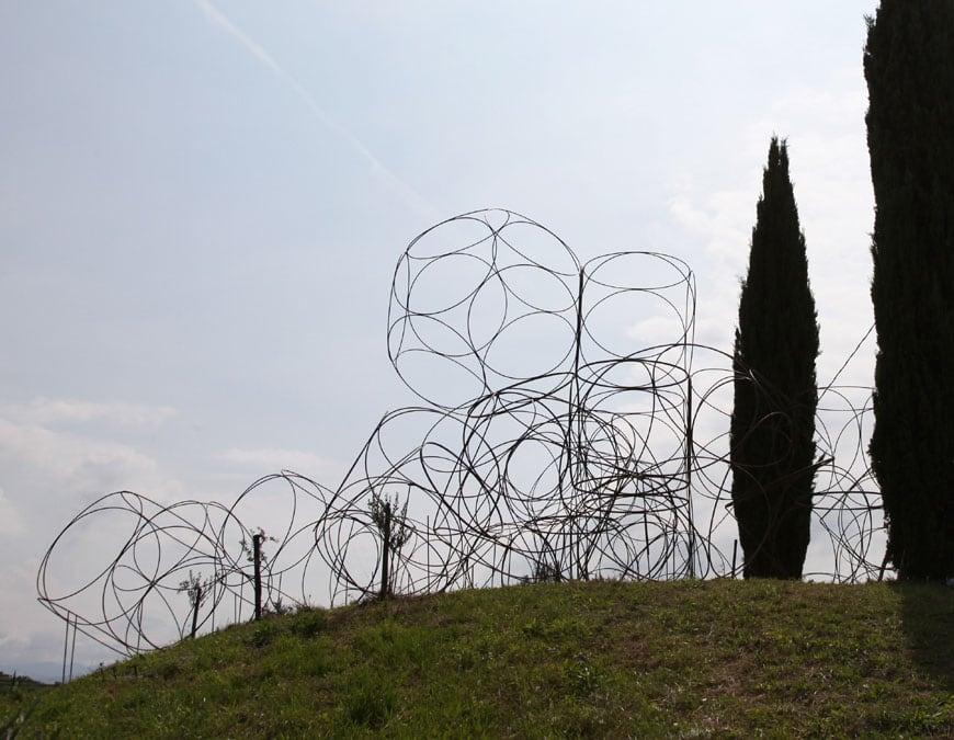 Yona Friedman vigne museum Livio Felluga winery Italy 2014